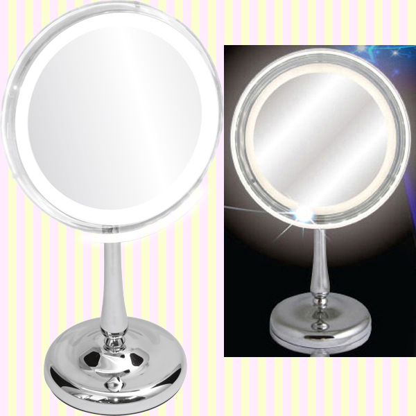 LED lighted makeup 5x magnifier(L)