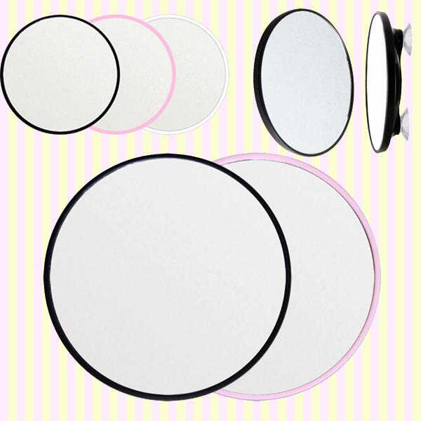 Round Shaped Suction Shaving 3X Magnifying Mirror 면도용 흡착식 확대거울