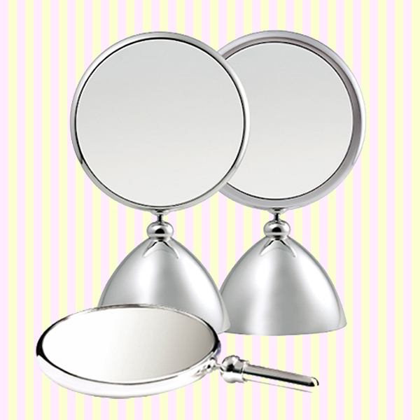Shiny Beauty Makeup Mirror with 2x magnifier(M)