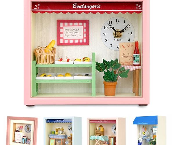 Dollhouse Boulangerie Clock 돌하우스 브랑제리시계