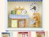 Dollhouse Miniature Chambre Clock 돌하우스 미니어처 샹브르시계