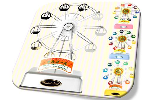 Ferris Wheel Music Box 뮤지컬랜드 페리휠 오르골