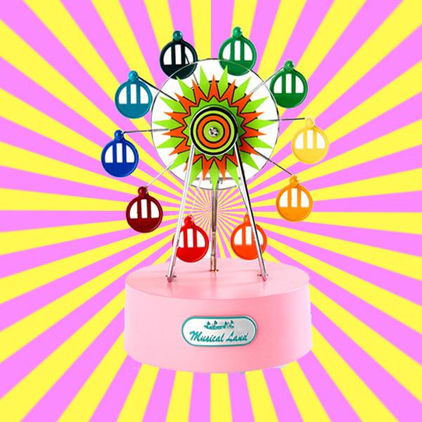 Mini Ferris Wheel Music Box 미니 페리휠 오르골
