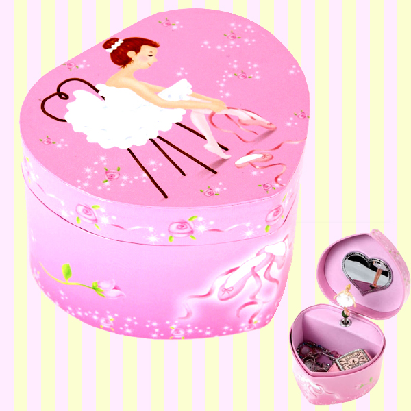 Mini Heart musical jewelry box 미니 하트 오르골 보석함