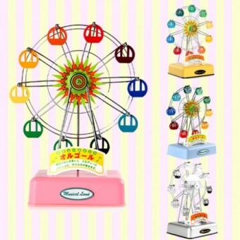 Rotating Windup Ferris Wheel Music box  회전하는 태엽식 관람차 오르골