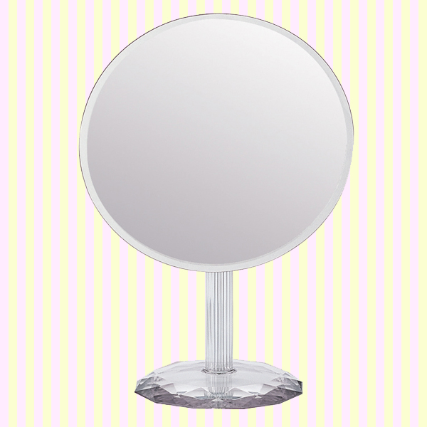 Frameless Artistic Round Makeup Mirror(Big Size) 샤이니 아트 원거울(빅사이즈)