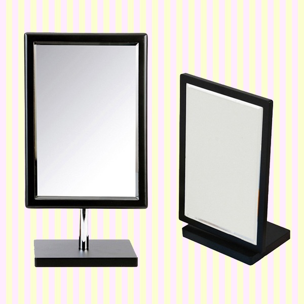 Henings Wooden Rectangle Makeup Mirror(Big)/cosmetic mirror  헤닝스 우드 사각 탁상거울(블랙/빅사이즈)