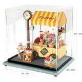 Dollhouse Fruit Store Clock 돌하우스 플루띠에 과일 스토아 시계