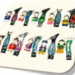 Korean Folk Figure Colormix Nail Clipper(10pcs) 칼라믹스 손톱깎이(10개묶음)