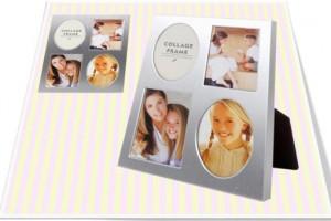 Silver Multi Photo Frame(S) 실버 패밀리 액자(소)