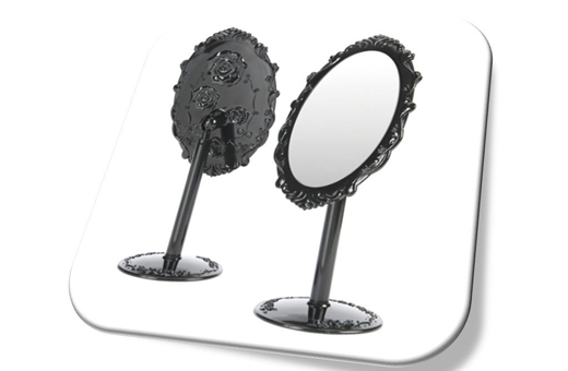 Anna Rose Pattern Make Up Mirror(S) 안나 로즈 탁상거울(소)
