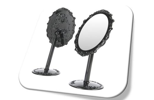 Anna Rose Pattern Make Up Mirror(S) 안나 로즈 탁상거울(소)