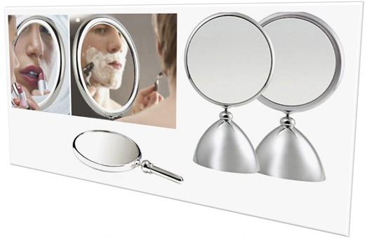 Henings Shiny Beauty Makeup Mirror(M) with 2x magnifier 헤닝스 뷰티 거울(중)