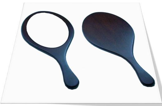 Wooden Venus Hand Mirror 우드 비너스 손거울