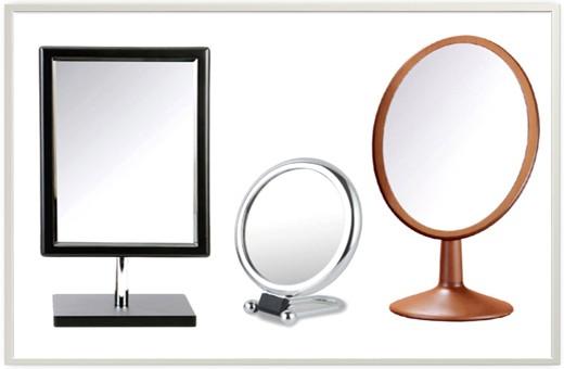 Wooden Rectangular Cosmetic Mirror  우드 사각거울(빅사이즈/블랙)