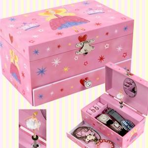 Magic Princess Pinky Musical Jewelry Box 요술공주 핑키 오르골 보석함
