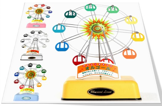 Ferris Wheel Music Box 뮤지컬랜드 관람차 오르골