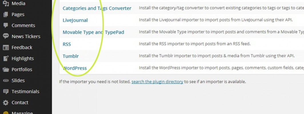 The meaning of import, export and demo at WordPress or Computer Science! 워드프레스 혹은 컴퓨터에서 사용하는 임포트, 엑스포트, 그리고 데모에관한 어휘 설명!