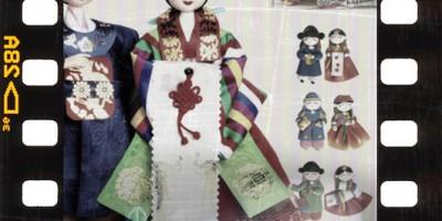 Korean Souvenirs, Korean traditional gifts, Korean handicrafts, Korean wedding doll, Korean mother-of-pearl jewelry box, Korean fridge couple magnets, Korean fan shape bookmark