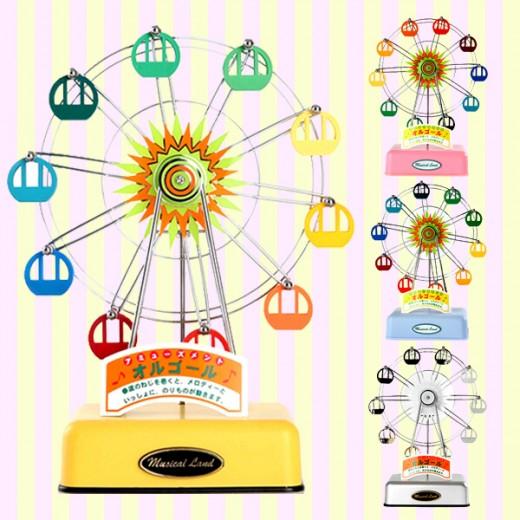Musical Land Ferris Wheel/Eiffel Tower/Airplane Music Box/Orgle 뮤지컬랜드 관람차 에펠탑 오르골/뮤직박스/음악상자