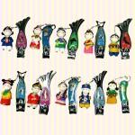 Korean Folk Figure Colormix Nail Clipper(10pcs) 칼라믹스 손톱깎이(10개묶음)