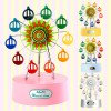 Musical Land Mini Ferris wheel Windup Mechanical Music Box    뮤지컬랜드 미니 페리휠 관람차 오르골