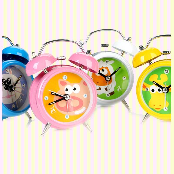 Animal Twin Bell Alarm Clock ~따르릉~ 동물 알람시계