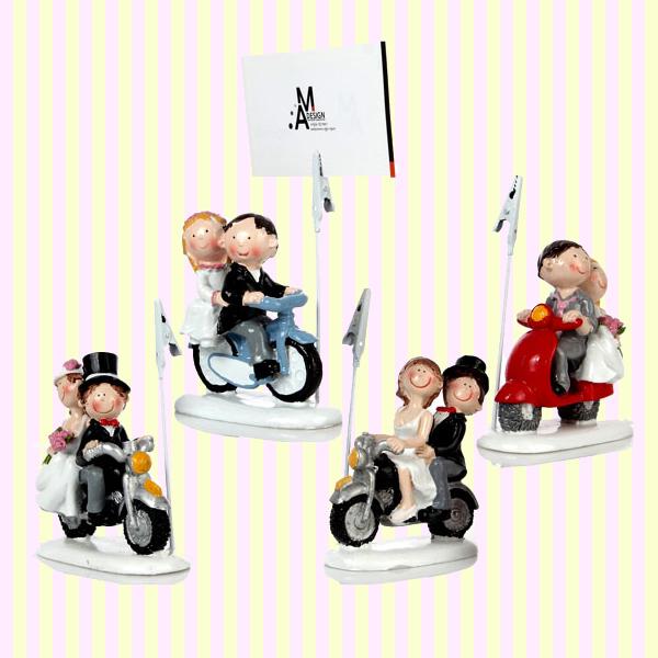 Wedding Couple Memo Clip(4pcs) 웨딩 커플 메모꽂이(4개묶음)