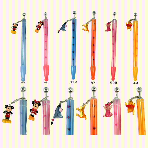 Mickey mouse dangle pen 미키마우스 뎅글리 펜