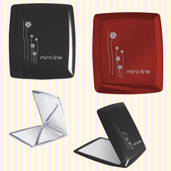 Miro Square Compact Mirror 미로 사각 콤팩트거울