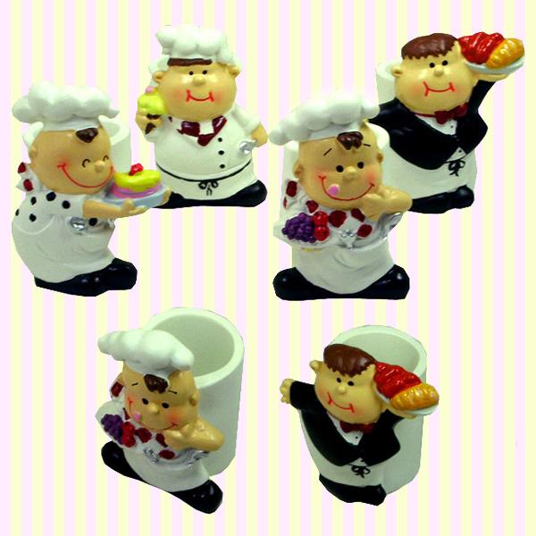 Idol Chef Toothpick Holder(4pcs) 아이돌 주방장 요지통(4개묶음)