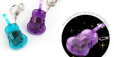 Violin shaped mechanical music box key ring, Orgel, Portable Orgel, 뮤직 바이올린 오르골 열쇠고리